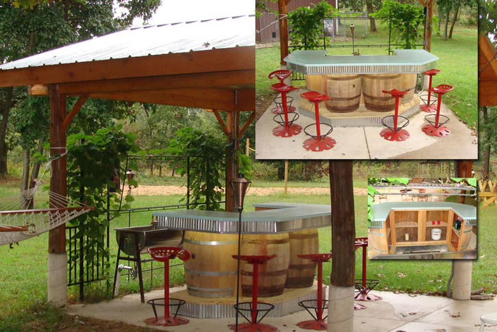 Outdoor Patio Space Design Middleville MI
