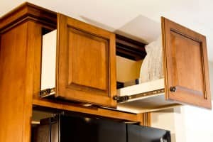 Kitchens By Katie Above Fridge Pullout Cabinets Drawers