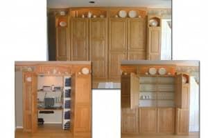 Kitchens By Katie Custom Built Hidden Office Space