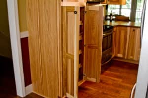 Kitchens By Katie Above Fridge Pullout Pantry