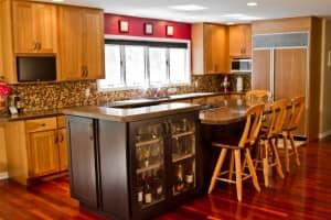 Kitchens by Katie Custom Built Kitchen Island