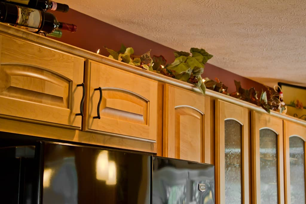 Deep drawer storage rollouts kitchens by katie for Cheap kitchen cabinets rochester ny