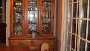 Kitchens By Katie China Cabinet Before and After Pictures