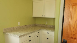 Kitchens By Katie Before and After Corner Cabinets