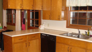 Kitchens By Katie Cabinet Refacing Before Picture